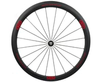 Image 1 for Alto Wheels CC40 Carbon Front Clincher Road Wheel (Red)