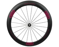 Alto Wheels CC56 Carbon Front Clincher Road Wheel (Pink)
