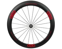Image 1 for Alto Wheels CC56 Carbon Front Clincher Road Wheel (Red)