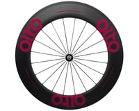 Image 1 for Alto Wheels CC86 Carbon Front Clincher Road Wheel (Pink)