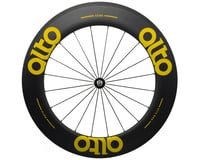Image 1 for Alto Wheels CC86 Carbon Front Clincher Road Wheel (Yellow)