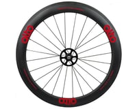 Image 1 for Alto Wheels CC56 Carbon Rear Clincher Road Wheel (Red)