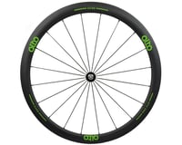 Image 1 for Alto Wheels CT40 Carbon Front Road Tubular Wheel (Green)