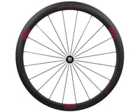 Alto Wheels CT40 Carbon Front Road Tubular Wheel (Pink)