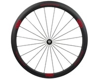 Image 1 for Alto Wheels CT40 Carbon Front Road Tubular Wheel (Red)