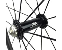 Image 2 for Alto Wheels CT56 Carbon Front Road Tubular Wheel (Orange)