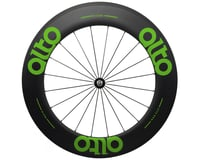 Alto Wheels CT86 Carbon Front Road Tubular Wheel (Green)