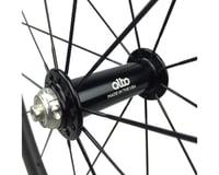 Image 2 for Alto Wheels CT86 Carbon Front Road Tubular Wheel (Orange)