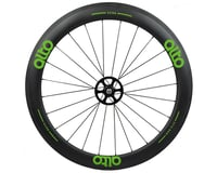 Image 1 for Alto Wheels CT56 Carbon Rear Road Tubular Wheel (Green)
