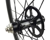 Image 2 for Alto Wheels CT56 Carbon Rear Road Tubular Wheel (Orange)