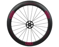 Alto Wheels CT56 Carbon Rear Road Tubular Wheel (Pink)