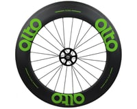 Image 1 for Alto Wheels CT86 Carbon Rear Road Tubular Wheel (Green)