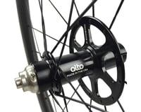 Image 2 for Alto Wheels CT86 Carbon Rear Road Tubular Wheel (Orange)