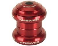 "Answer BMX Standard Headset (Red) (1"" Mini) 