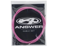 Image 2 for Answer Brake Cable Set (Pink)