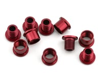 Answer Alloy Chain Ring Bolt Kit (Red)