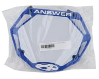Image 2 for Answer 3D BMX Number Plate (Blue) (Pro)