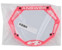 Image 2 for Answer 3D BMX Number Plate (Pink) (Pro)