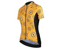 Assos Women's UMA GT Short Sleeve Jersey (Camou Orange Borealis)