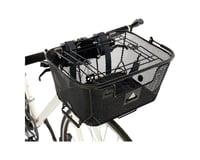 Image 2 for Axiom Pet Basket with Rack and Handlebar Mounts (Black)