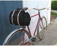 Image 5 for Banjo Brothers Minnehaha Canvas Saddle Bag (Black) (M)