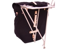 Image 2 for Banjo Brothers Minnehaha Canvas Utility Pannier (Black)
