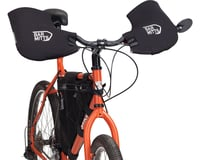 Bar Mitts Mountain / Commuter Pogie Handlebar Mitten: for Mirrors XL Black