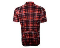 Image 2 for Belch Red Plaid Short Sleeve Jersey (Red)