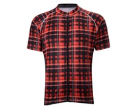 Image 3 for Belch Red Plaid Short Sleeve Jersey (Red)