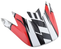 Bell Sanction Replacement Visor (White/Black/Red)
