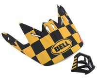 Bell Full-9 Replacement Visor Combo (Yellow/Black)