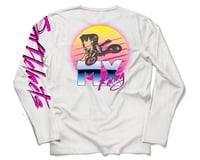 Image 2 for Bell Vintage Moto Long Sleeve T-Shirt (White) (2XL)