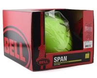 Image 4 for Bell Span Kid's Helmet (Matte Bright Green) (XS)
