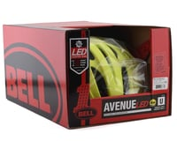 Image 5 for Bell Avenue LED MIPS Helmet (HiViz/Black) (Universal Adult)
