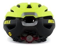 Image 2 for Bell Avenue LED MIPS Women's Helmet (HiViz/Black) (Universal Women's)