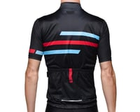 Image 2 for Bellwether Edge Cycling Jersey (Black/Blue/Red) (S)