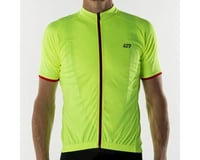 Image 2 for Bellwether Criterium Pro Cycling Jersey (Hi-Vis) (XL)