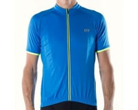 Image 2 for Bellwether Criterium Pro Cycling Jersey (Cyan Blue/Yellow) (L)