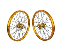 "Black Ops DW1.1 20"" Wheel Set (Gold/Black/Gold) (3/8"" Axle)"
