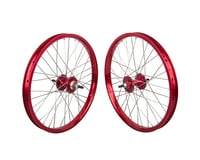 "Black Ops DW1.1 20"" Wheel Set (Red/Silver/Red) (3/8"" Axle)"