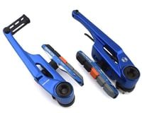 Image 1 for Box Components Eclipse Linear Pull Brake (Blue) (108mm)