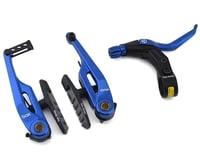 Image 1 for Box Brake Caliper Box Three V W/Lever (Blue) (108mm)