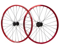 Box One Stealth Expert BMX Wheelset (20 x 1-1/8) (Red)