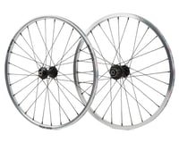 Box One Stealth Expert BMX Wheelset (20 x 1-1/8) (Silver)