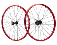 Box Three BMX wheelset (20 x 1-1/8) (Red)