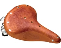 Brooks B67 S Women's Saddle (Honey) (Black Steel Rails)