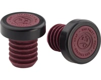 BSD M-Cap Bar Ends (Dark Red) (Pair)