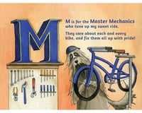 Image 3 for Buddy Pegs Llc B is for Bicycles (Children's Alphabet Book)