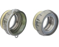 Campagnolo Power-Torque English Bottom Bracket Cups (Silver) (BSA)