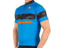 Image 1 for Canari Aero Pro Jersey (Blue/Camo Orange) (XL)